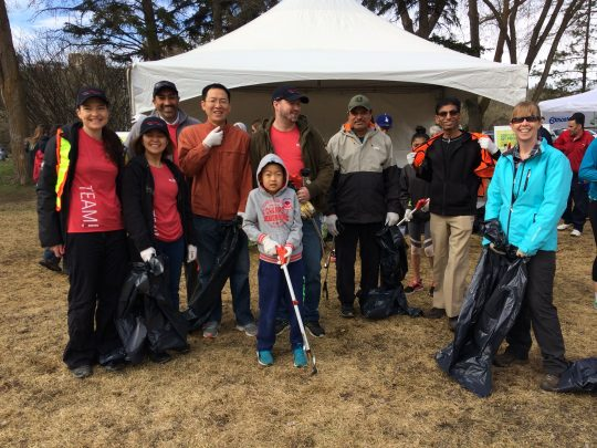 Supporting River Valley Clean-Up