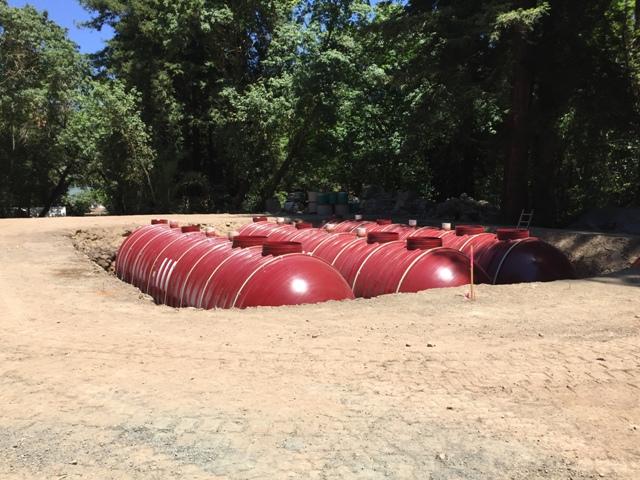 Xerxes Tanks for Castello di Amorosa - June 2016